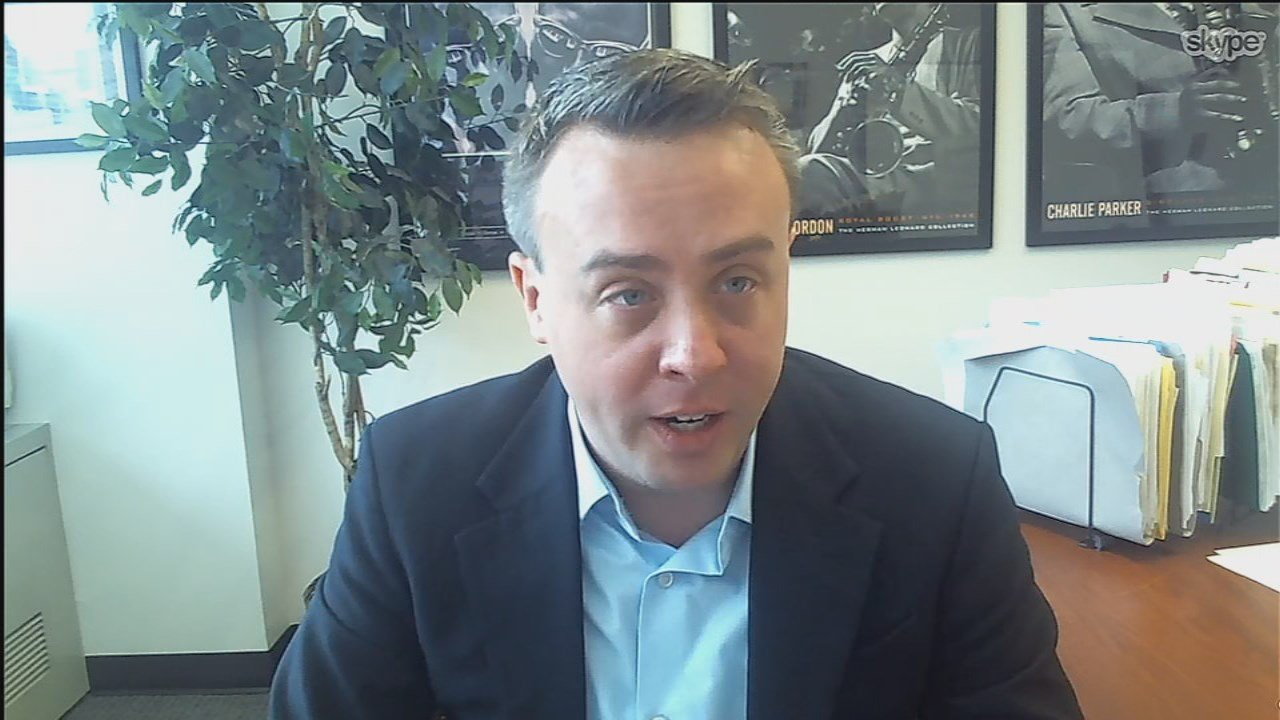 Jason Szanyi, one of the authors of the Center for Children's Law Policy's report.