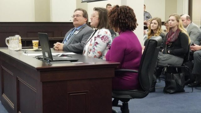 Students in the Georgia Chaffee Teenage Parent Program urged lawmakers on a House budget review subcommittee to spare funding for the program.