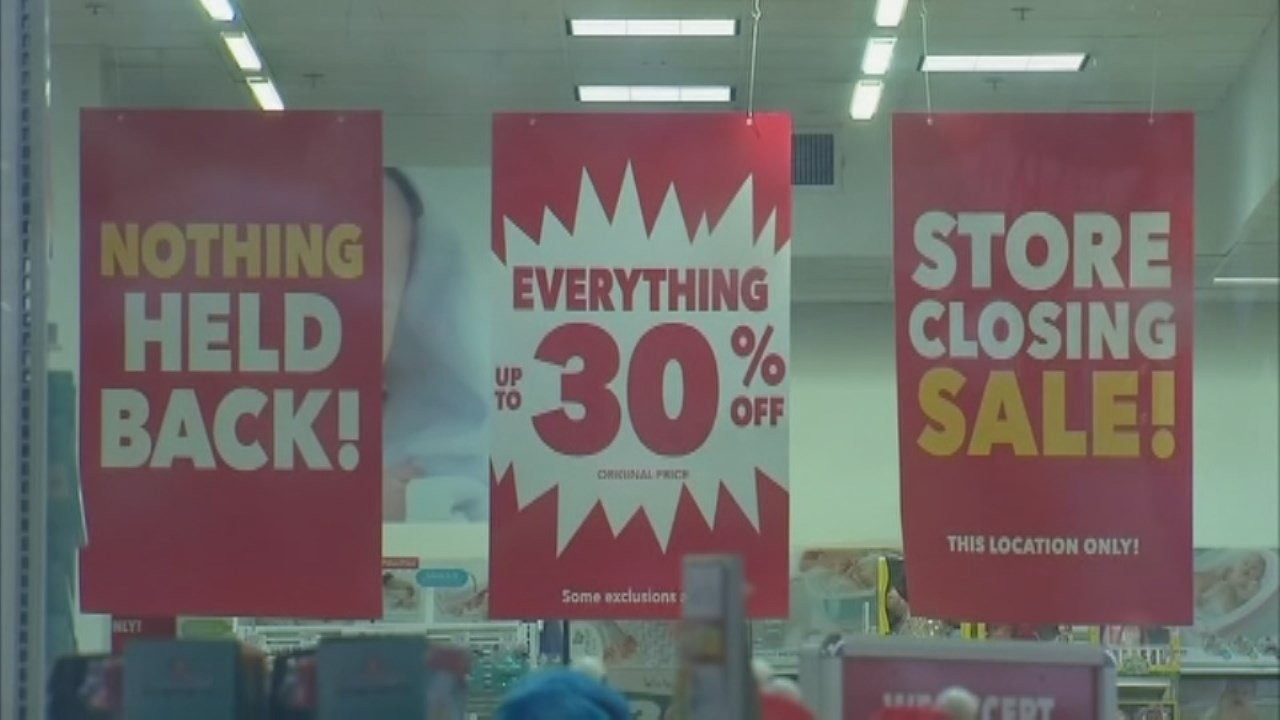 Liquidation sales at the Toys R Us stores slated to close have begun.
