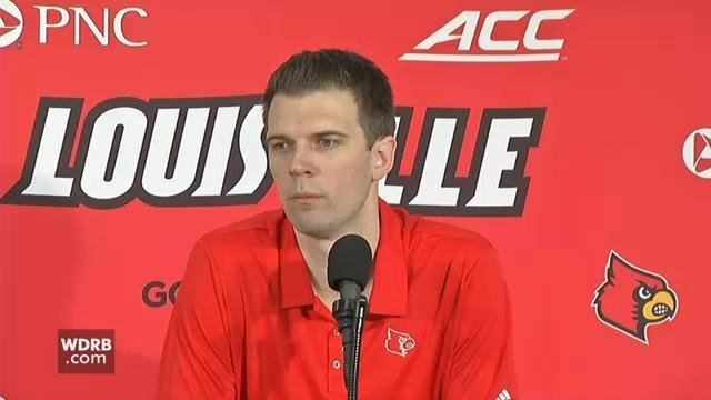 Louisville interim head coach David Padgett