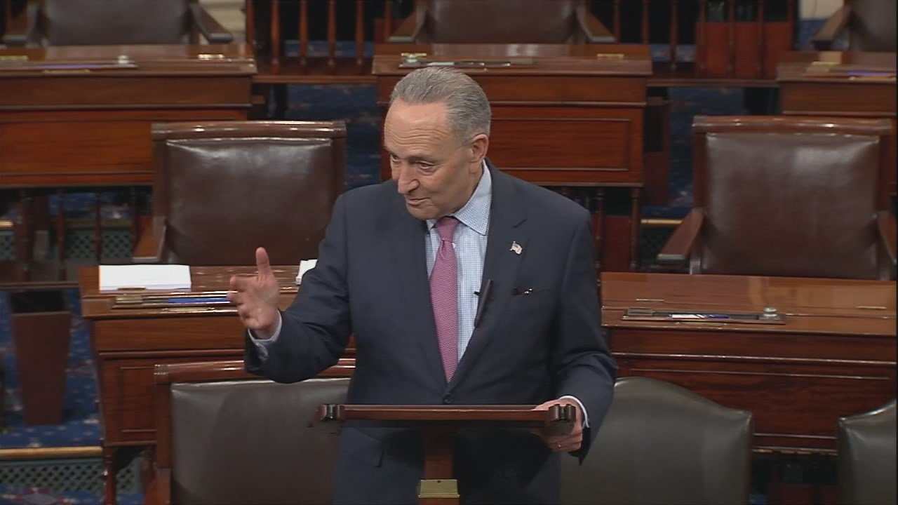 Senator Chuck Schumer is scheduled to speak at the University of Louisville Monday morning.