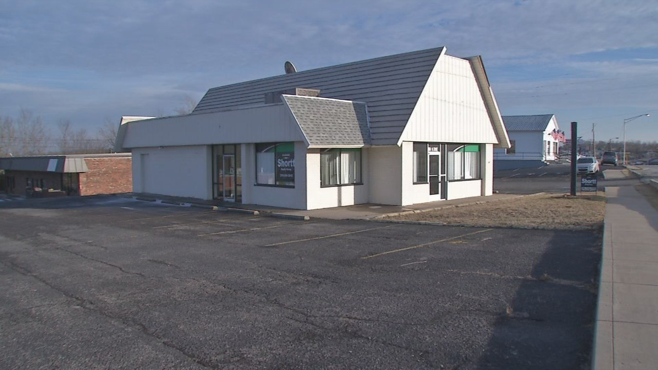 A former Enterprise Rent-A-Car facility is being offered for sale for $295,000.