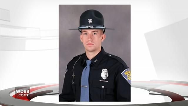 Indiana State Trooper Morgenn Evans was shot during a traffic stop in Jeffersonville, Indiana on Dec. 13, 2017.