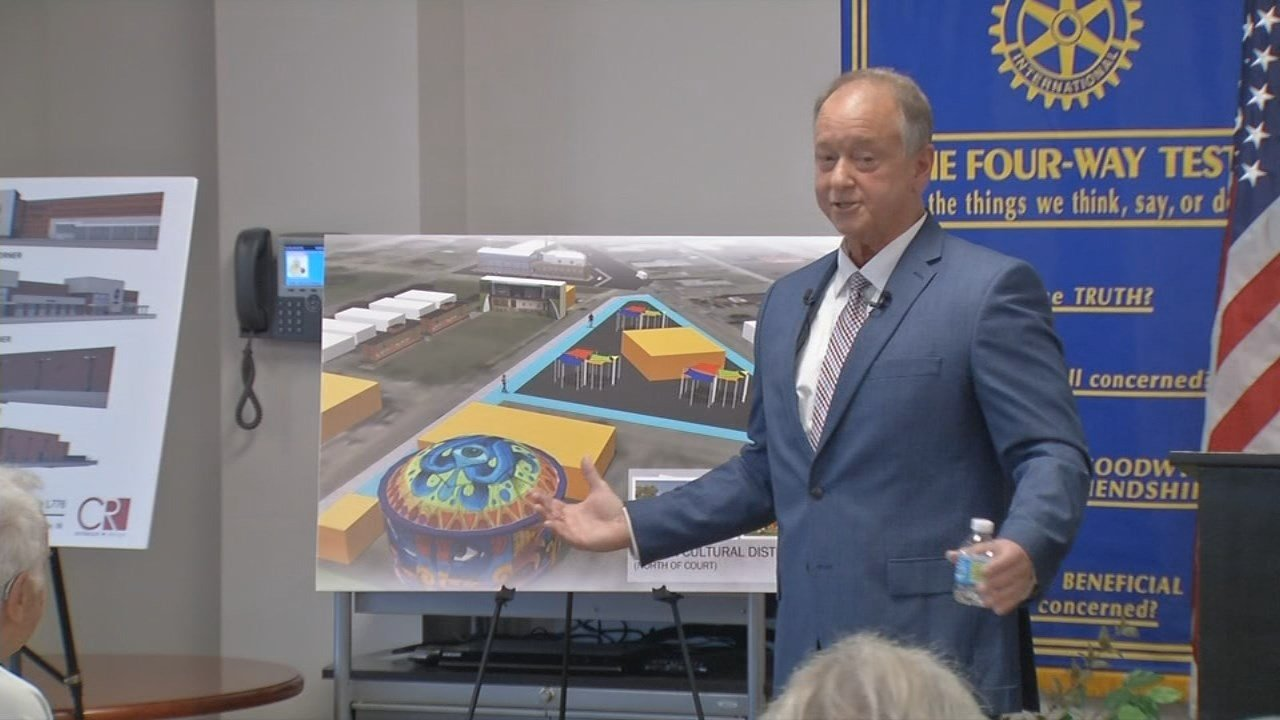In his annual state of the city address, Moore said the city of Jeffersonville must invest in infrastructure and education if the city is going to sustain its growth.