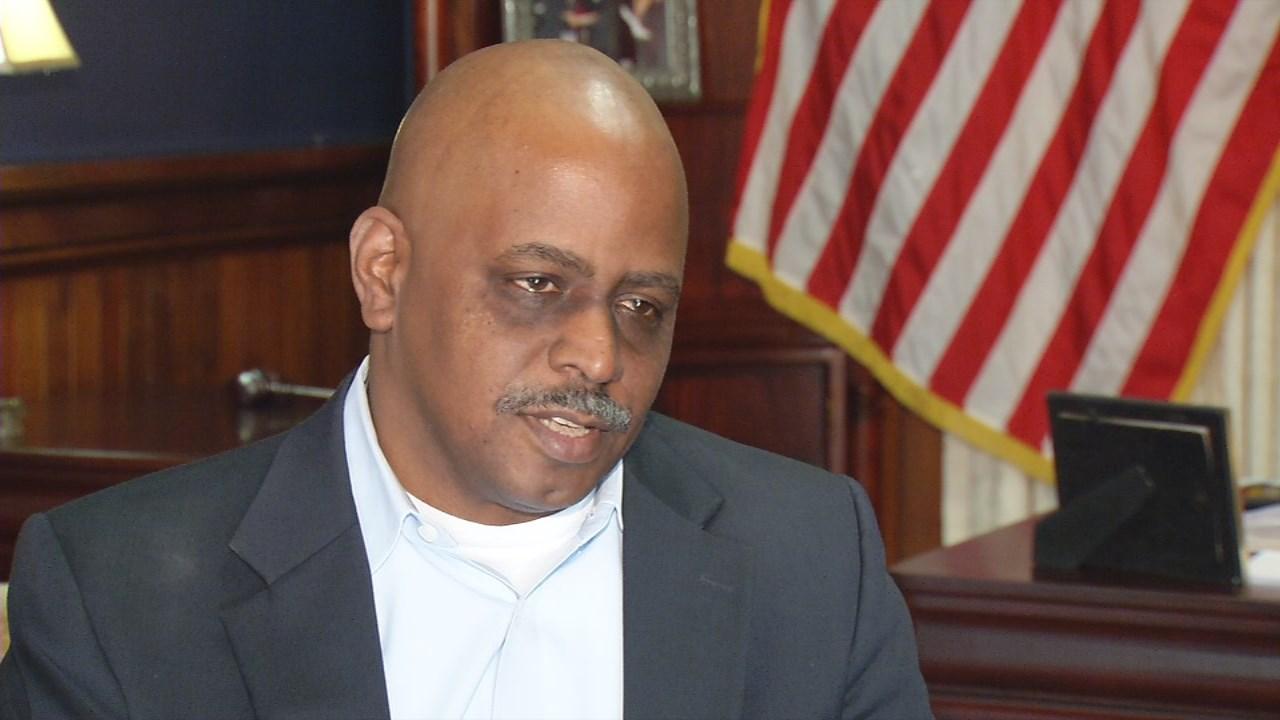 Metro Council President David James