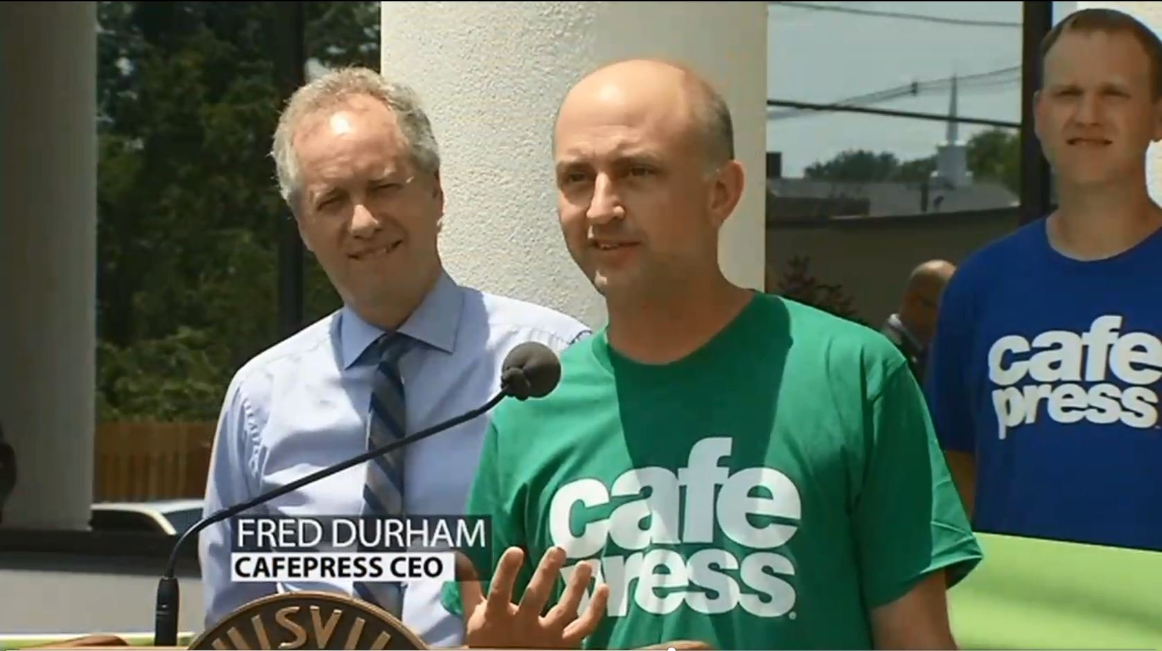 Cafepress CEO Fred Durham (2016 WDRB photo)