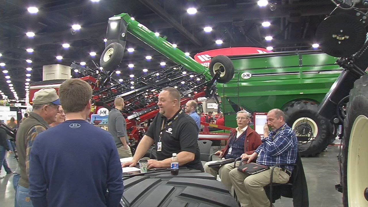 The Farm Machinery Show is in Louisville again this year, Feb. 14-17.