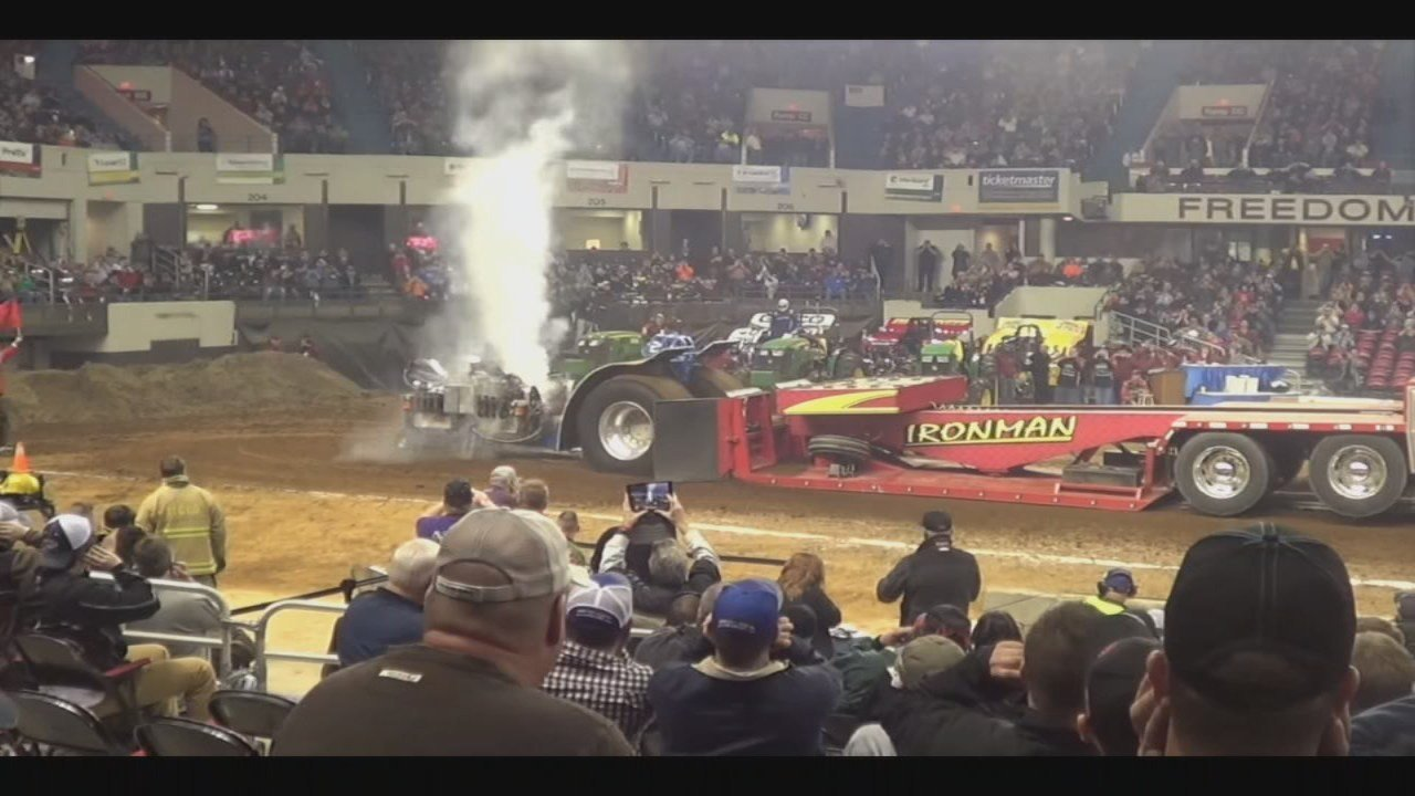 It's the 50th year of the show's popular Championship Tractor Pull.