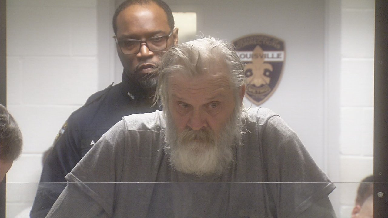 William Seale, age 68, was arraigned on several charges inside Louisville Metro Corrections Thursday morning.