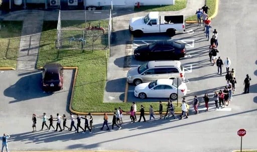 Seventeen people were shot and killed Wednesday by 19-year-old Nikolas Cruz.