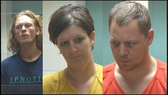 Ryan Denholm, Sherry Bratten, and Matthew Denholm