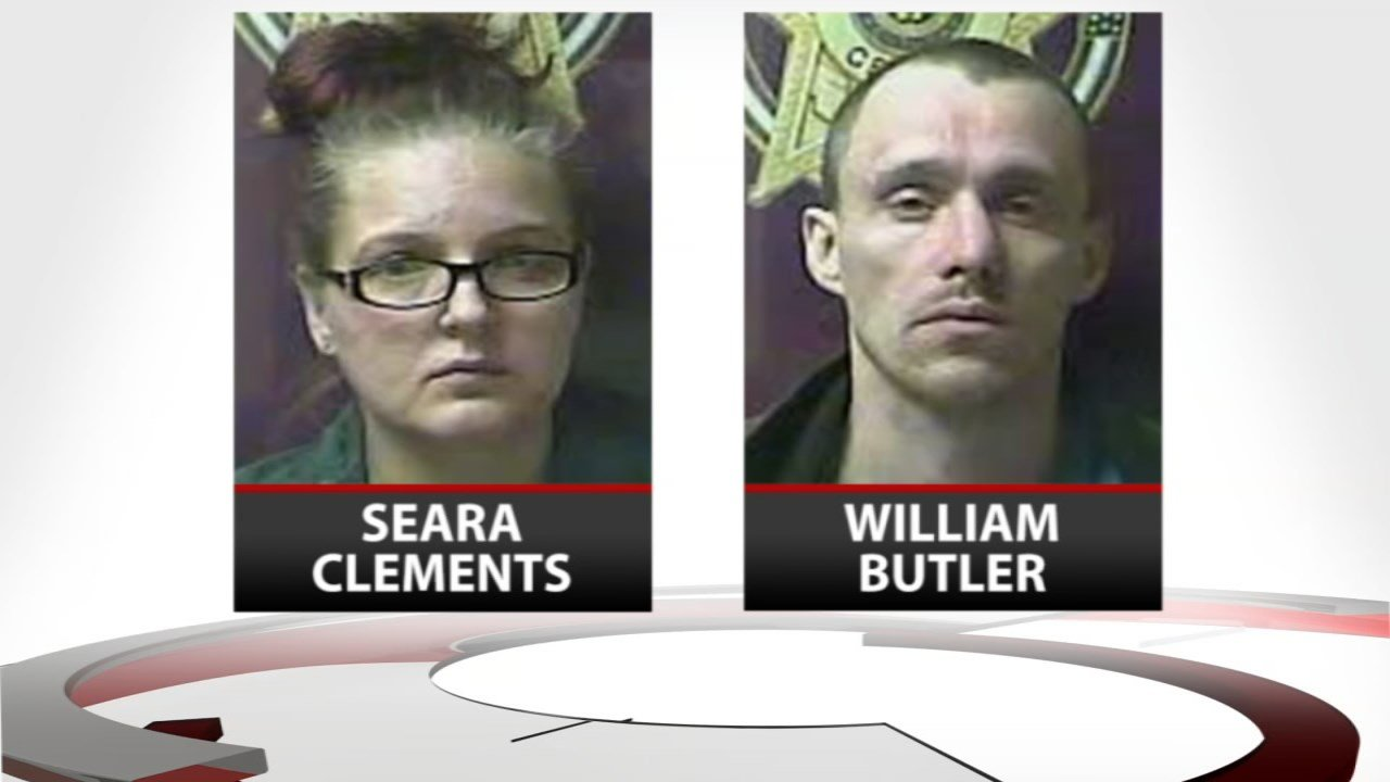 Seara Clements and her boyfriend,William Butler, are charged with murder.