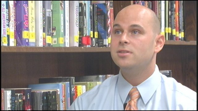 Taylor Marshall, Frankfort High teacher