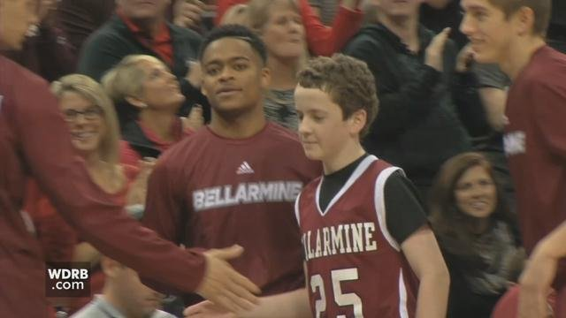 Louisville first embraced McSweeney in 2015, when he was then a St. Xavier High School student suited up as a Bellarmine Knight in an exhibition basketball game against the Louisville Cardinals.