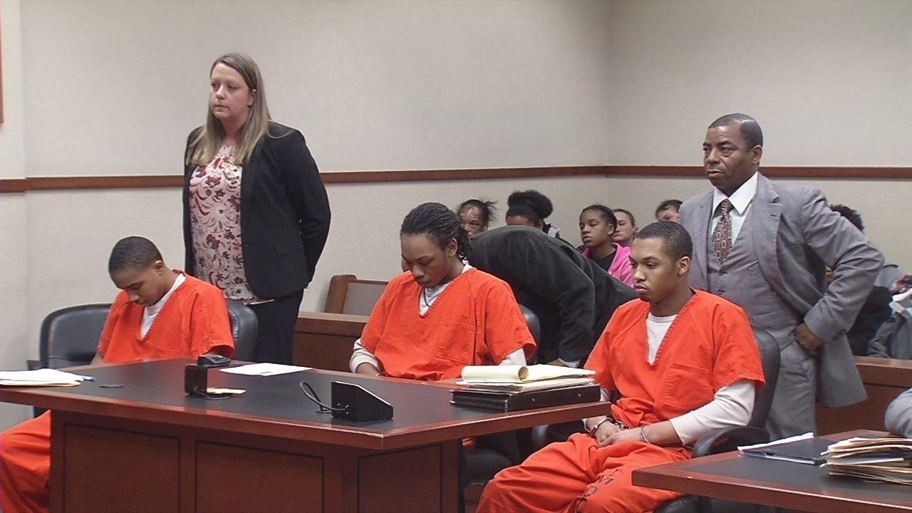 Ke'Montrae Davis, Theodric Hayes and Kevin Grover, pleaded guilty to facilitation to murder and facilitation to armed robbery charges and were sentenced to 10 years in prison.