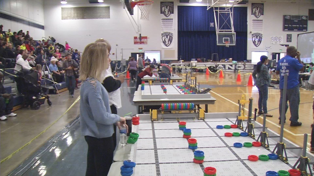 More than 500 local elementary and middle school students took part in the Jefferson County VEX IQ Tournament at Marion C. Moore School on Saturday.