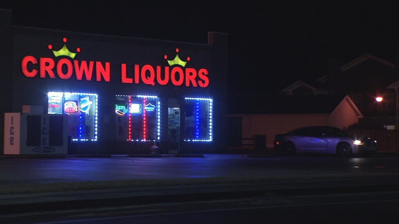 A man died at the hospital shortly after he was found with gunshot wounds outside Crown Liquors on Cooper Chapel Road in the early morning hours of Feb. 18, 2018.