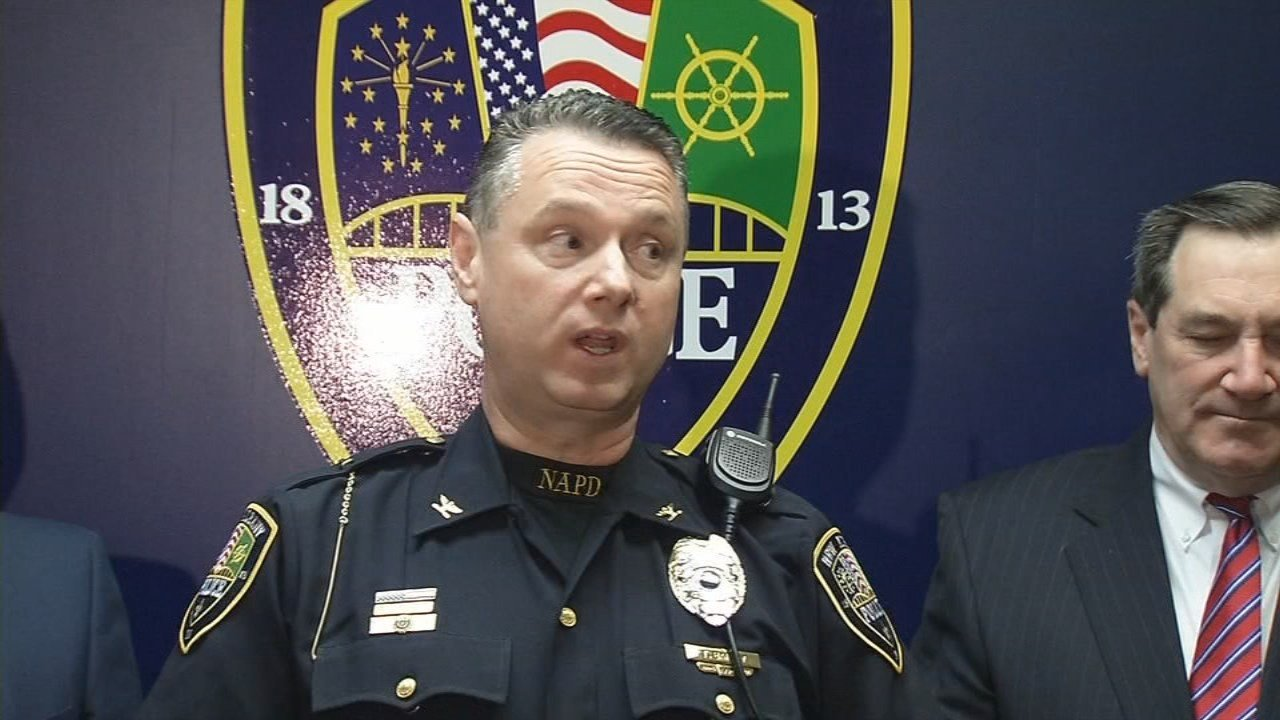 New Albany Police Chief Todd Bailey