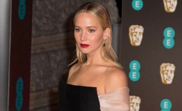Jennifer Lawrence attended the 2018 British Academy Awards in London on Feb. 18. (Image Courtesy: Fox News)