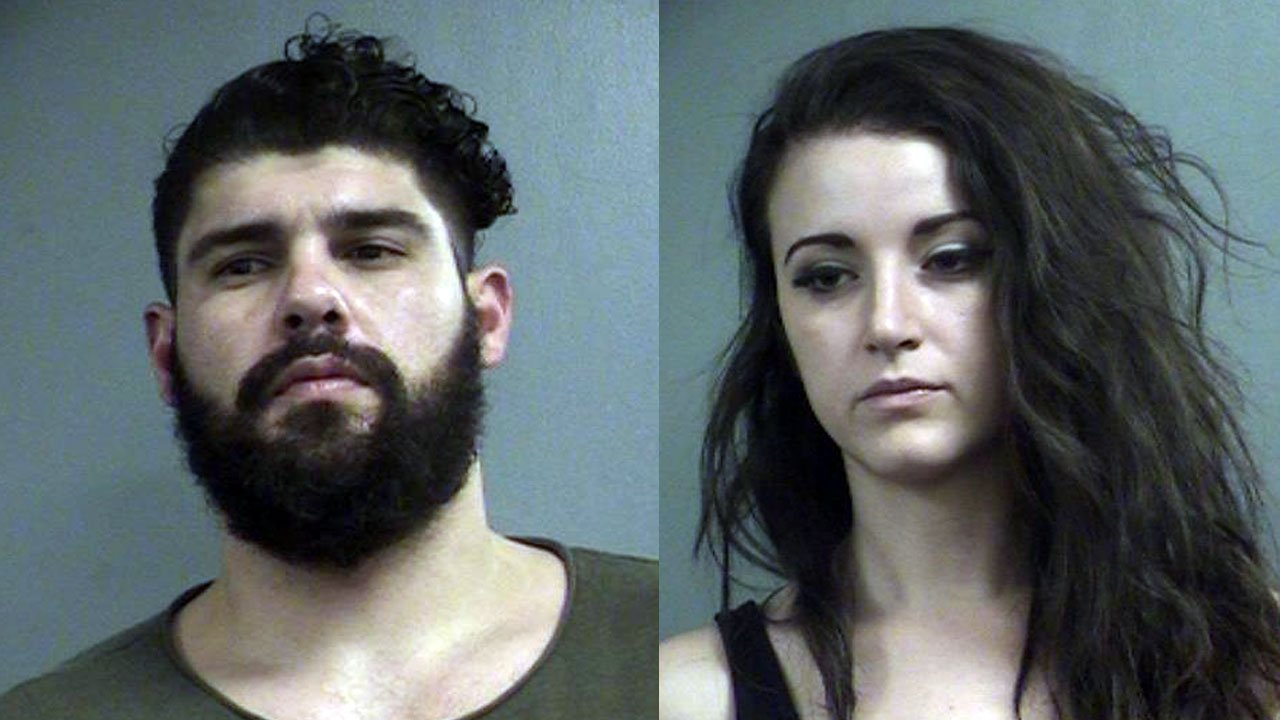 Michael Derek Pascarelli and Hannah Huffines (Source: Louisville Metro Corrections)