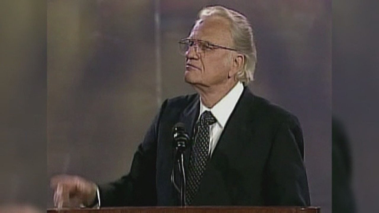 The Rev. Billy Graham died at his North Carolina home on Feb. 21, 2018.