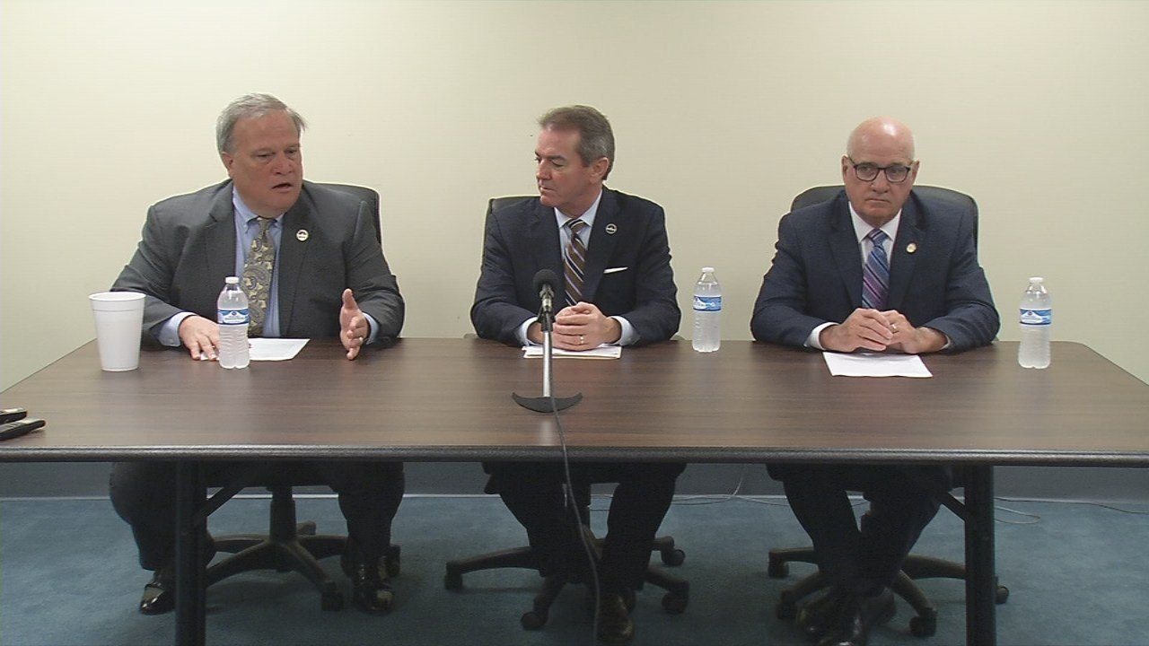 Senate President Robert Stivers, House Speaker Pro Tem David Osborne and Sen. Joe Bowen introduced the bill Wednesday in Frankfort.