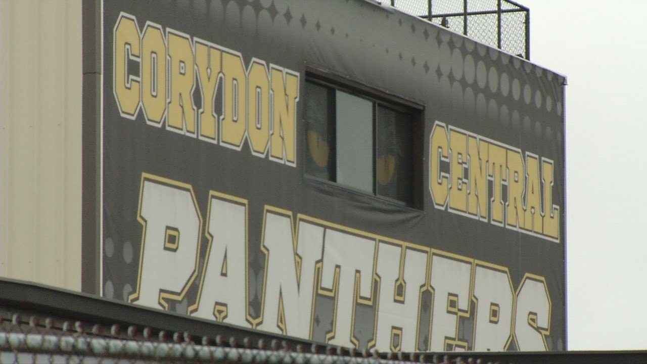 Five students from Corydon Central High School are accused of making violent threats on social media.