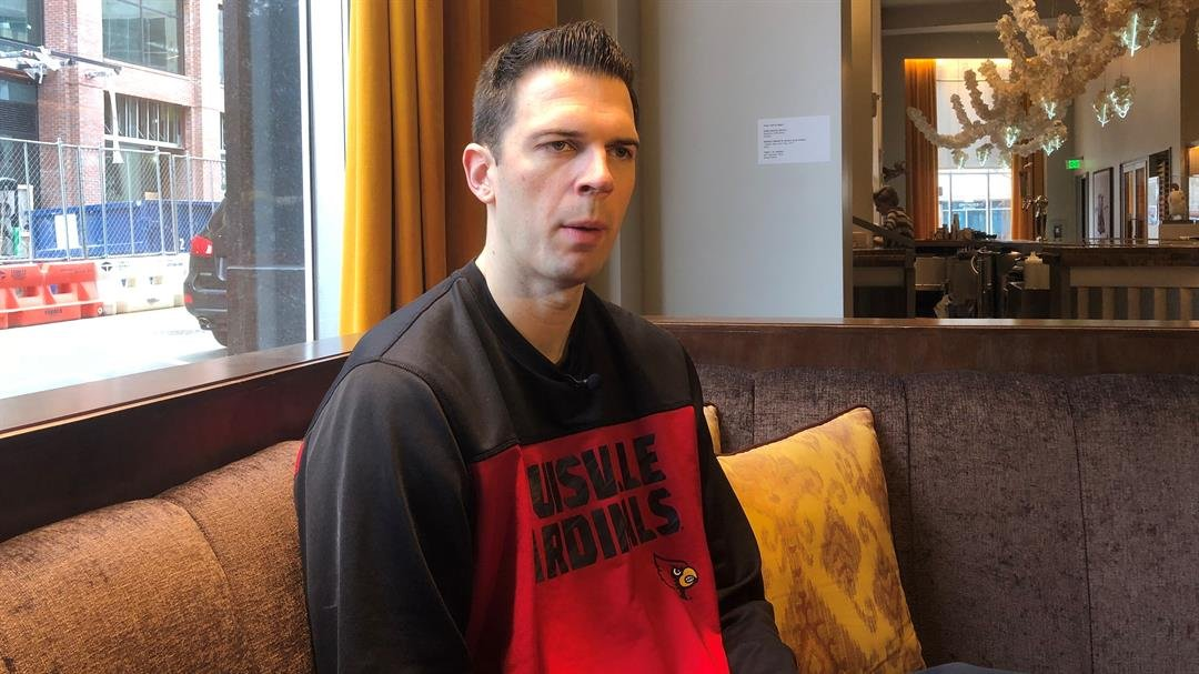 Louisville coach David Padgett kept his team in Durham before taking the Cardinals to Virginia Tech Friday afternoon.