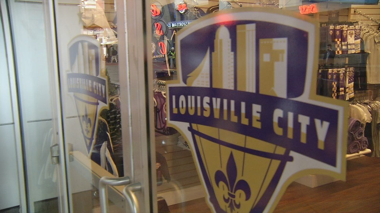The club opened its new team store Friday at Fourth Street Live.