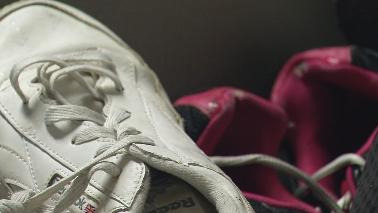 The Kentucky Ambition donated more than 150 pairs of shoes to residents of Wayside Christian Mission on Saturday.