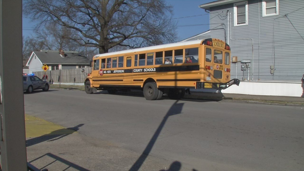 One minor injury was reported after this JCPS bus was involved in an accident on Feb. 26, 2018.