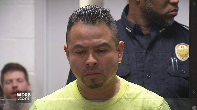 Florencio San Martin Garcia is charged with trafficking in marijuana.