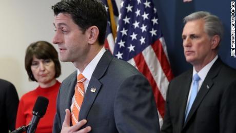 House Speaker Paul Ryan (Image Courtesy: CNN)
