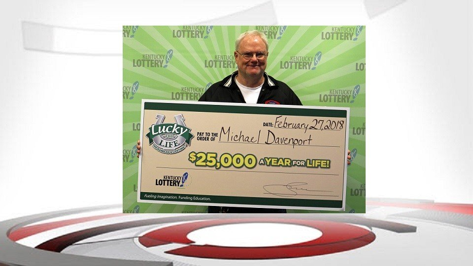 Michael Davenport (Image Source: Kentucky Lottery)