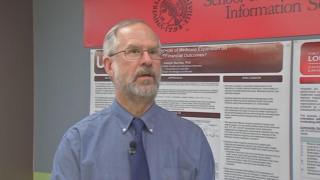 Dr. Paul McKinney,Associate Dean of Public Heath at the University of Louisville