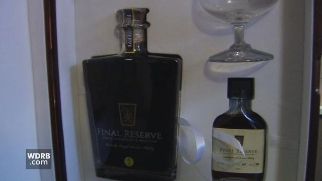 This rare bourbon collector's set sold for $1,800 plus tax to a limited number of buyers.