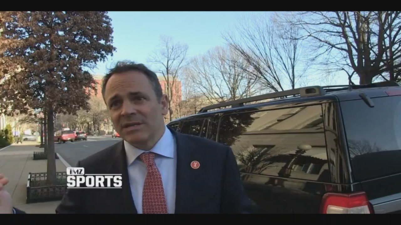 Kentucky Gov. Matt Bevin says top-tier college athletes deserve monetary compensation (source: TMZ Sports)