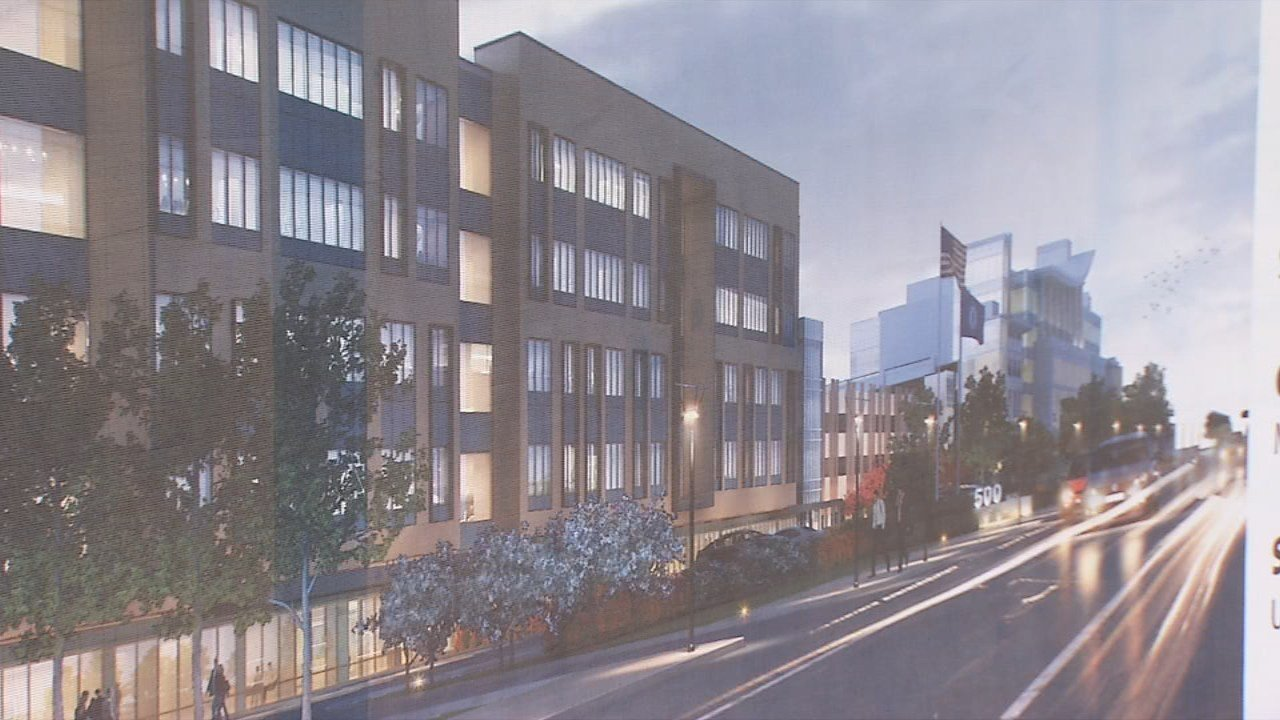 Anew office building is planned for the site.