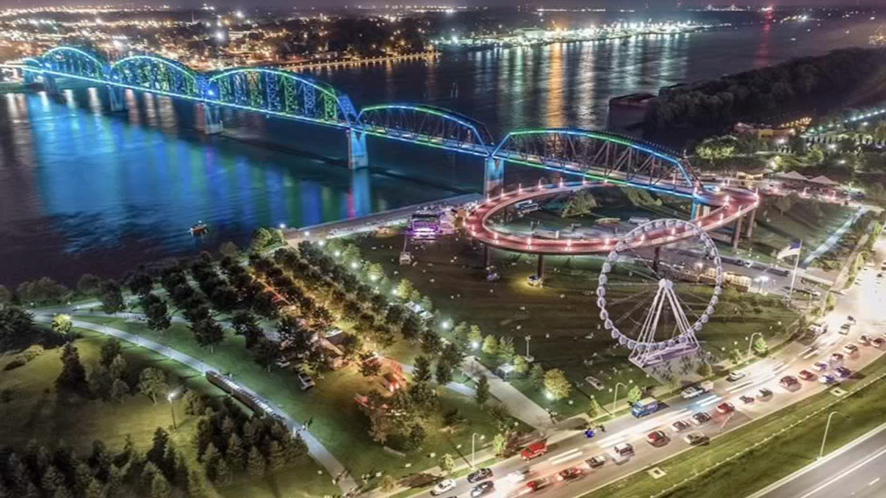 The SkyStar Wheel will be at Waterfront Park for five weeks from March 29 to May 6, 2018.