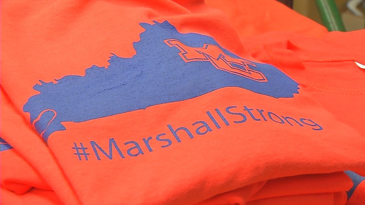 T-shirts designed to show solidarity with the victims of the recent school shooting in Marshall County, Kentucky, have gone on sale.
