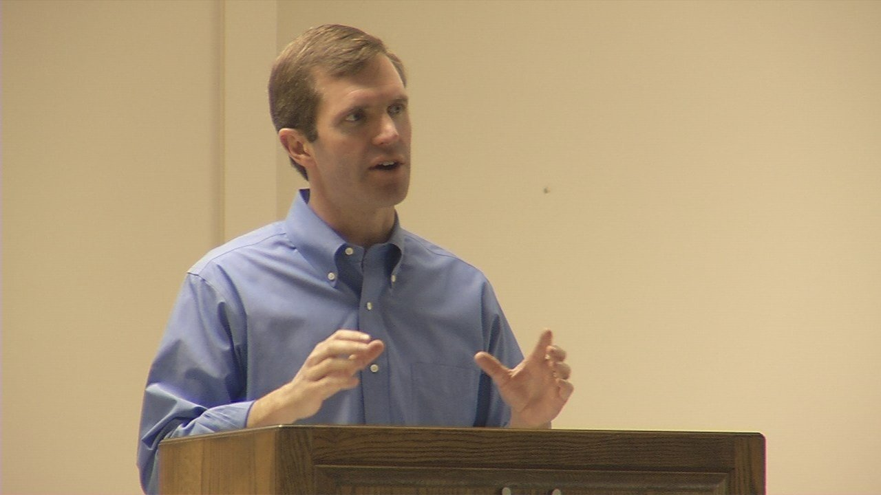 Beshear said no community is immune to the dangers of trafficking, and it can happen even in the safest of areas.