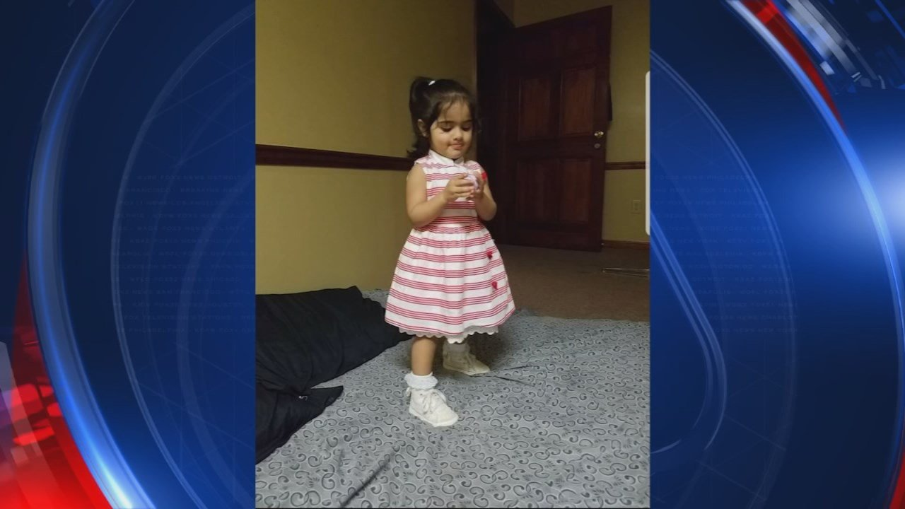 Ifrah Siddique was inside the Riverdale store with her family around 8 p.m. when the full-length mirror fell on top of her, officials toldFOX5 Atlanta. The toddler, who was trying on shoes with her mother before the incident, was rushed to the hospital w