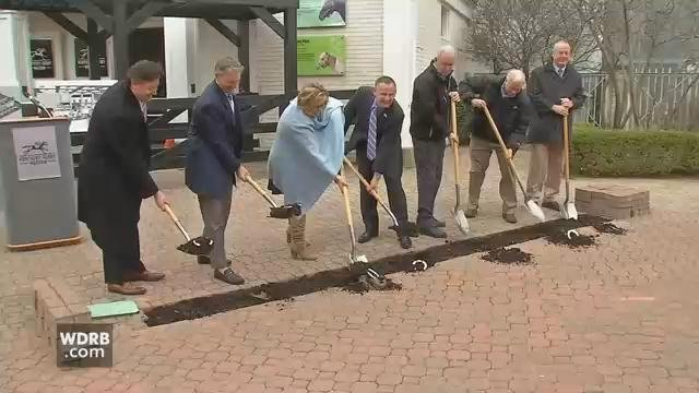 Kentucky Derby Museum officials broke ground on a $6.5 million expansion project on March 5, 2018.