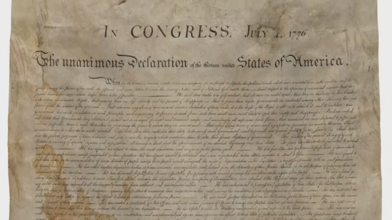 A rare copy of the Declaration of Independence that once belonged to a Louisville family has been sold.