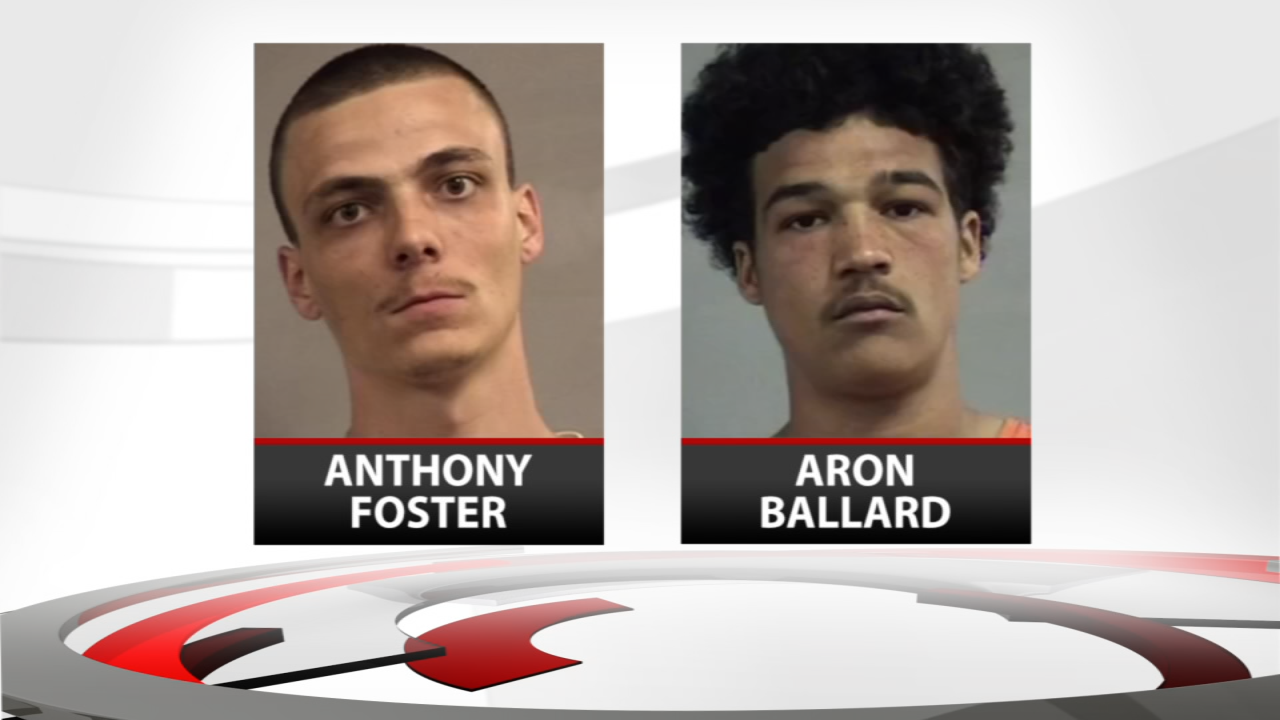 Anthony Foster and Aron Ballard accepted a plea deal.