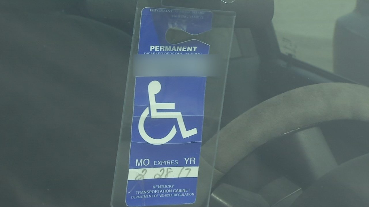 So many people have been applying for handicap parking placards in Kentucky the state wants to start charging for them again.