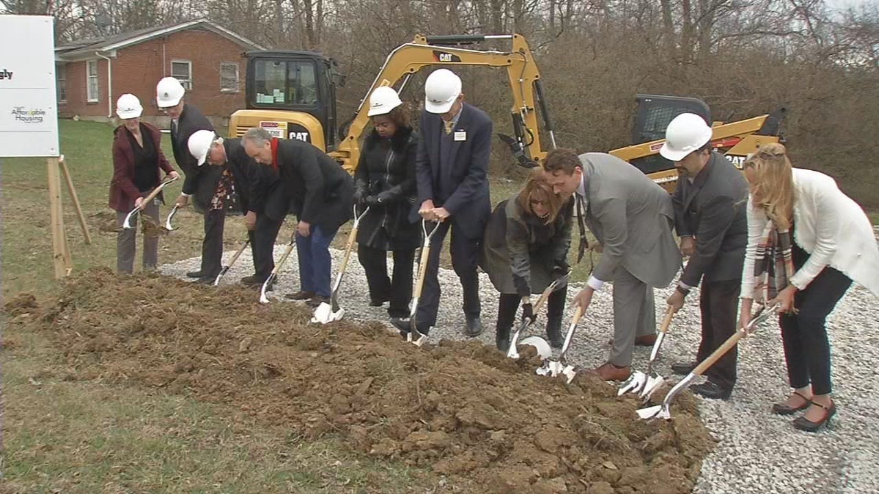 On Wednesday afternoon, officials broke ground on Middletown Apartments, a project that was partially funded by FY18.