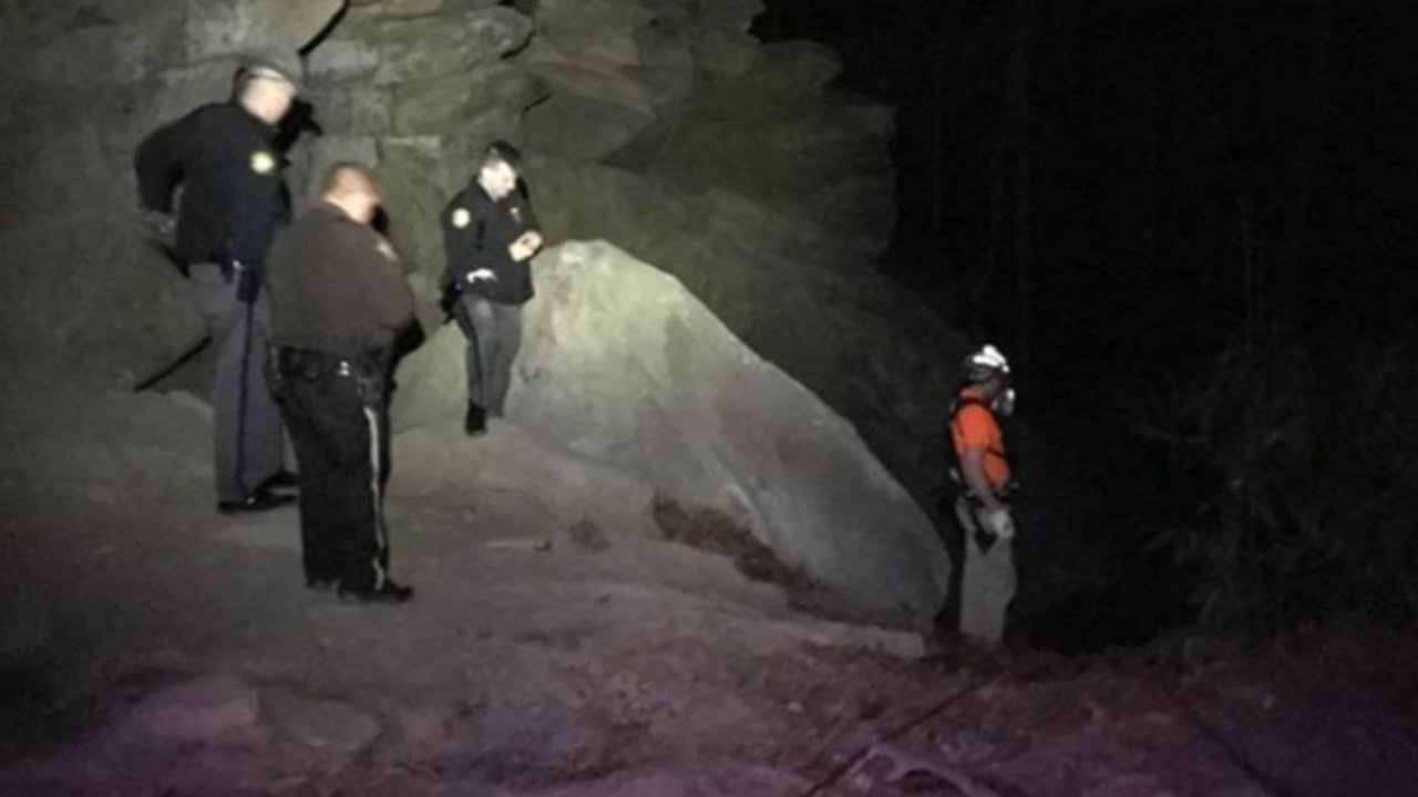 Searchers found the body of a man who plunged 150 feet from a cliff at Red River Gorge on March 6, 2018.
