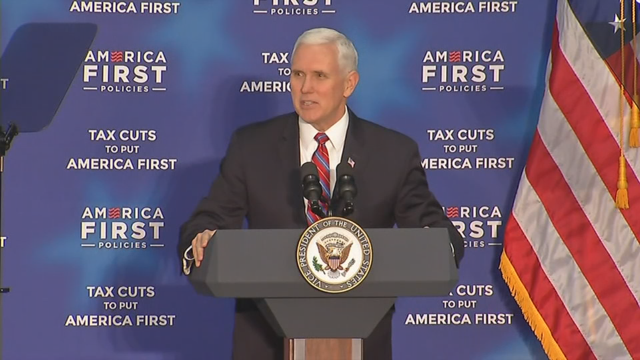 V.P. Mike Pence speaks to crowd in Versailles, Ky. March 7, 2018