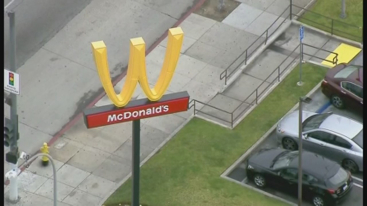 McDonald's is celebrating International Women's Day by turning its iconic arches upside down.